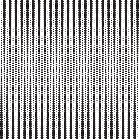 vertically: Points halftone pattern with gradient effect. Vertical dots. Vertically directed spots. Template for backgrounds and stylized textures.