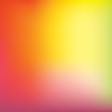 Colorful gradient mesh background in bright rainbow colors. Abstract smooth blurred texture. Easy editable soft colored illustration without transparency.