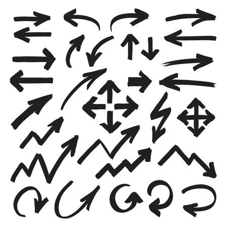 stroked: Marker Arrows Symbols Illustration