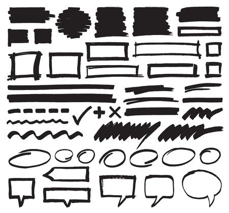 Marker-Design-Elemente