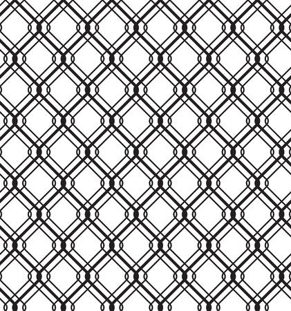 detain: Wired Metallic Fence Seamless Pattern