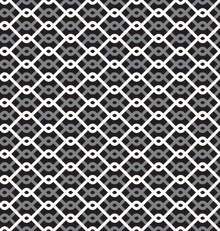 chainlink fence: Wired Metallic Fence Seamless Pattern