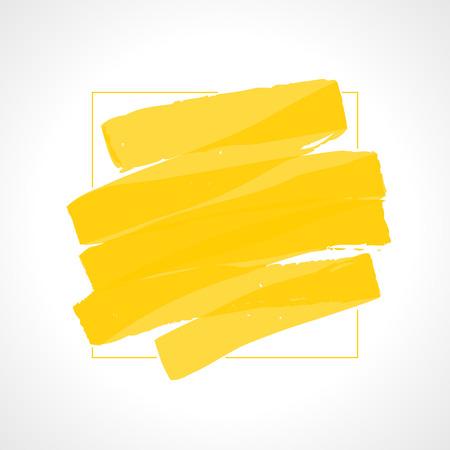 Marker Strokes Vector Background