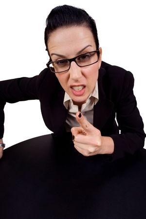 Weibliche Betrieb bis Finger streiten