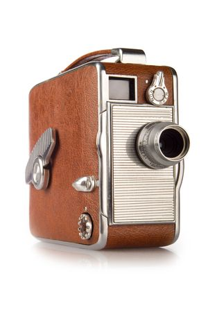 Retro vintage 8mm film camera
