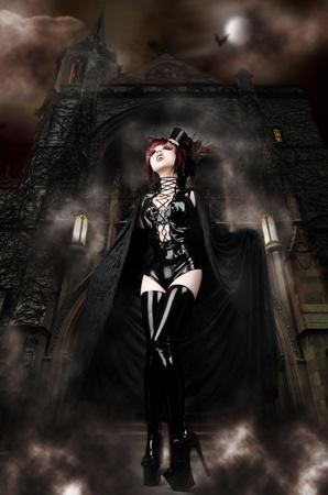 Vampira Stock Photo