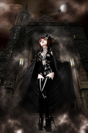 Vampira Lizenzfreie Bilder