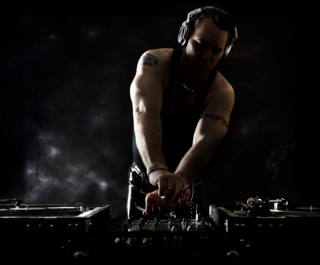 Beats scuri - DJ miscelazione photo
