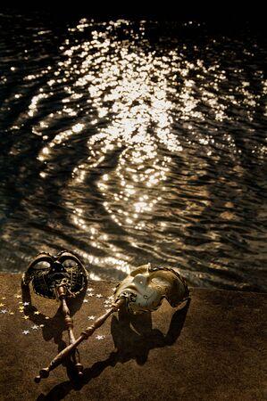 masquerade masks: Masquerade - Venetian Masks by the River