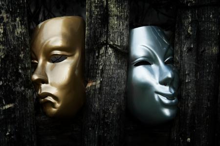Comedia y Tragedia - drama máscaras Teatro