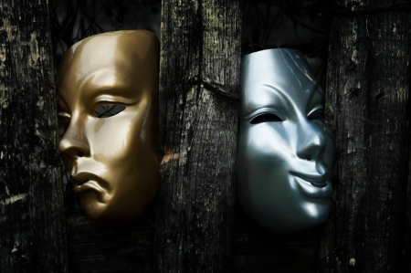 theaters: Comedy and Tragedy  - Drama Theater Masks