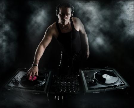 Dark Beats - DJ Mixing Imagens