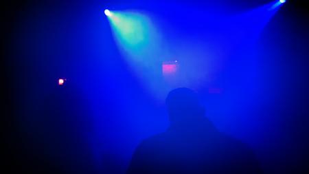 Dark Nightclub Scene