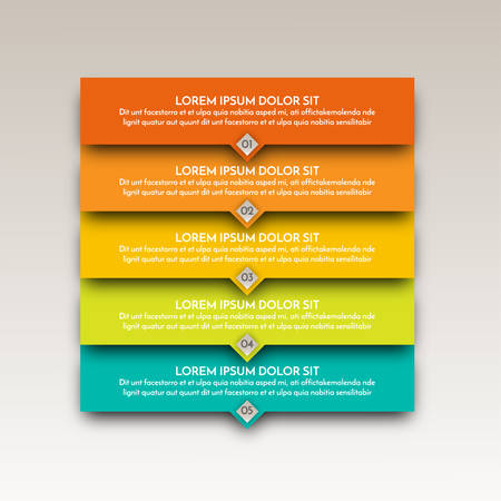work flow: Infographic elements. Modern template for business and marketing design. Can be used for work flow layout diagram, business step options Illustration