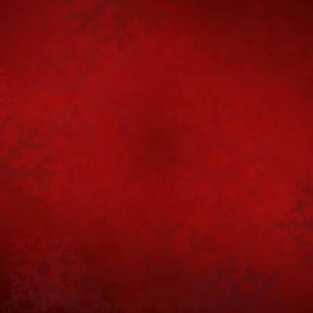rode sneeuwvlokken kerst achtergrond
