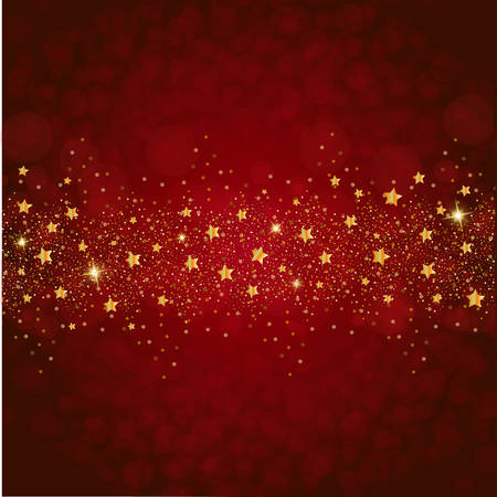 Christmas glitter stars background