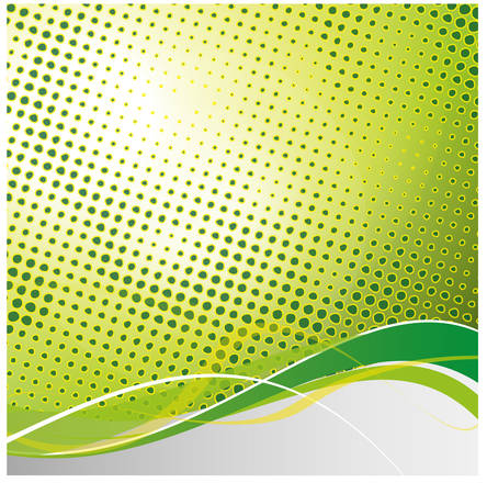 robbon: abstract colorful halftone vector background