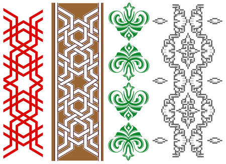 Pattern, ornament, tattoo, abstract background, decorative illustration  Vector