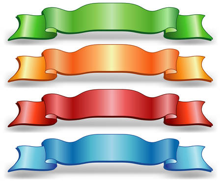 packing tape: Celebratory tape of different colors for gift packing, an illustration Illustration