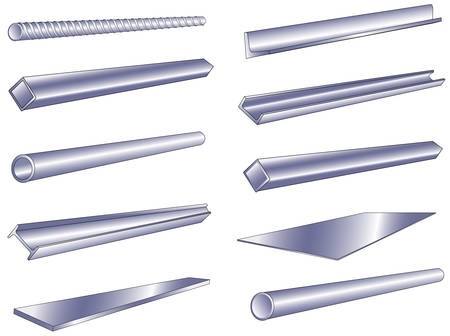 koperen leiding: Metalen pijp, rod, kanaal, geïsoleerde object op een witte achtergrond