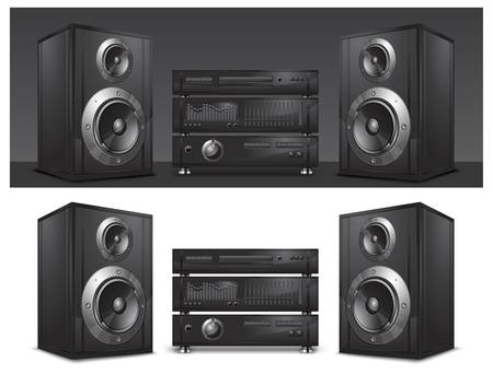 Audio system, hi-fi music center