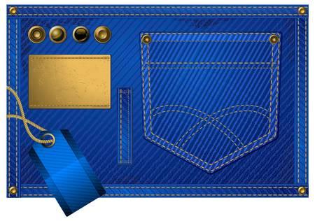 rivet: Джинсы аксессуары, карманные и кнопки на джинсовой ткани