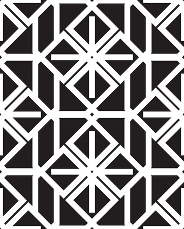 wall hanging: Geometry seamless pattern. Modern stylish texture. Can be used for desktop wallpaper or frame for a wall hanging or poster,for pattern fills,  web page backgrounds, textile and more Illustration