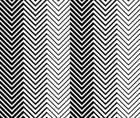 zag: Geometric seamless background with black and white zig zag pattern