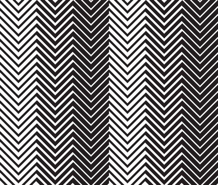 zag: Geometric seamless background with black and white zig zag pattern.