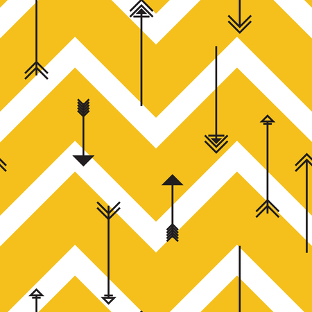 Tribal arrows, seamless pattern. Can be used for desktop wallpaper or frame for a wall hanging or poster,for pattern fills, wedding decor, web page backgrounds, textile and more.
