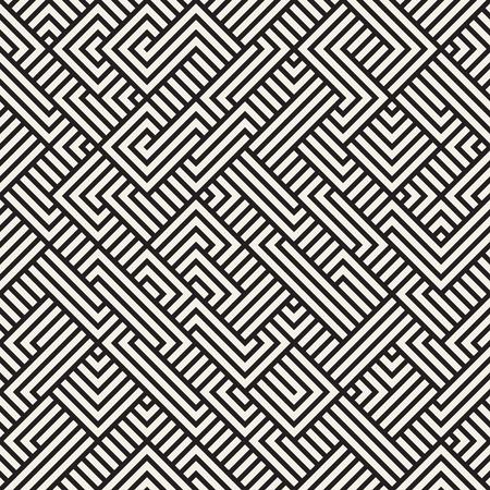 irregular: Seamless Irregular Maze Geometric Pattern Abstract Background Illustration