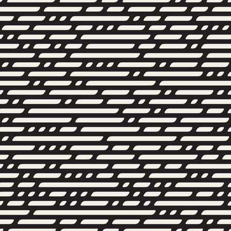 horizontal lines: Seamless Black And White Dashed Horizontal Lines Geometric Pattern Abstract Background