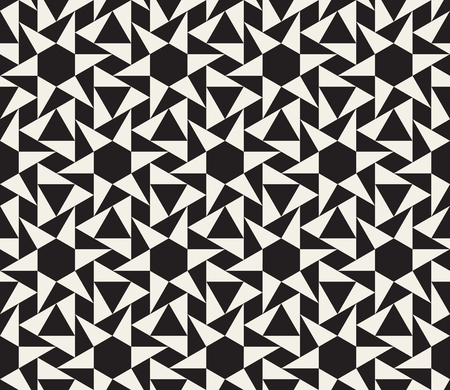 tessellation structure: Seamless Black and White Geometric Tessellation Pattern Abstract Background Illustration
