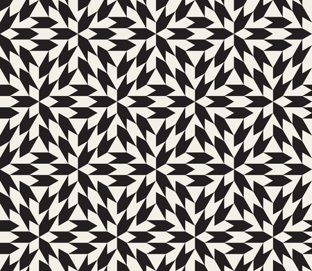 tessellation: Seamless Black and White Geometric Tessellation Pattern Abstract Background Illustration