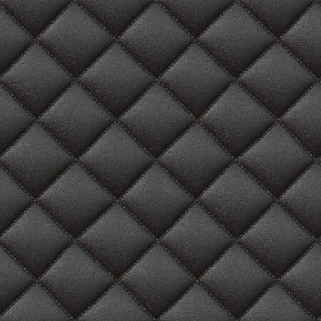covering cells: Raster Seamless Cell Leather Pattern. Realistic Texture Rendering Stock Photo