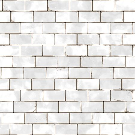 brick and mortar: Raster Seamless Grungy Brick Mortar. Realistic Texture Rendering