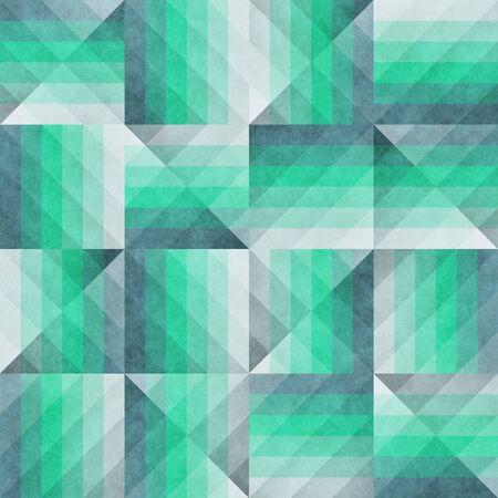 irregular: Raster Seamless Irregular Retro Pattern. Abstract Geometric Background Design Stock Photo