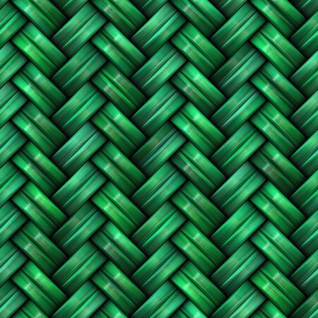 weave: Twill Weave Texture. Abstract Geometric Background Design. Seamless Multicolor Pattern.
