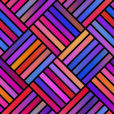 pavement: Gradient Tiling Grid. Abstract Geometric Background Design. Seamless Multicolor Pattern