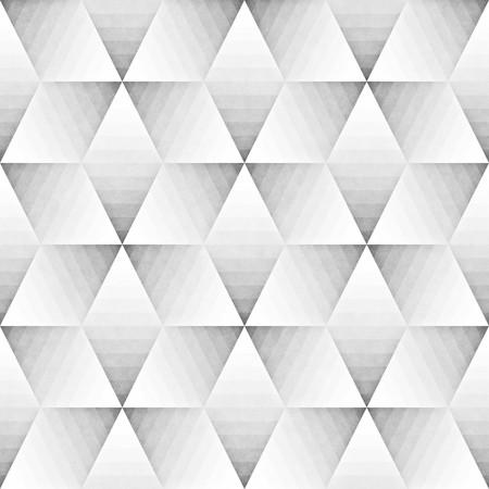 pattern: Seamless Monochrome Pattern. Grungy Geometric Shapes Tiling.