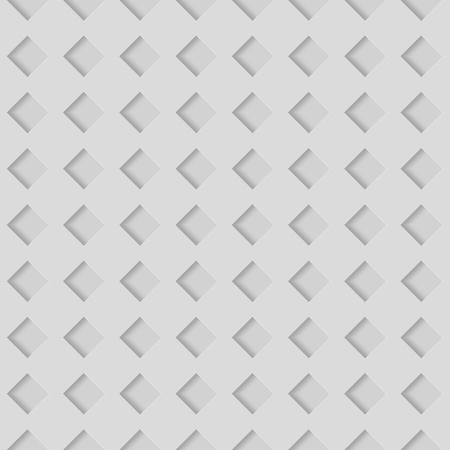 Seamless Patterns With Beveled Shapes. Abstract Grayscale Monochrome Pavetment Background