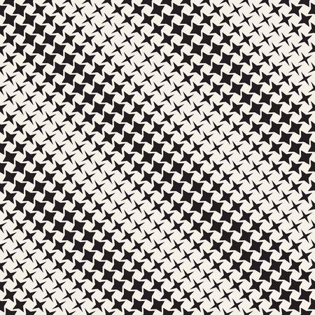 Geometric seamless star shapes pattern. Halftone gradient effect. Stylish vector illustration