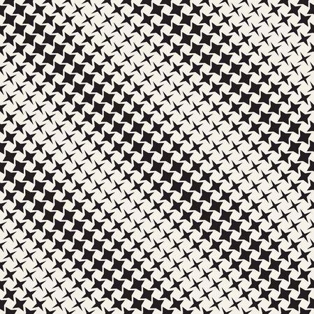 Geometric seamless star shapes pattern. Halftone gradient effect. Stylish vector illustration