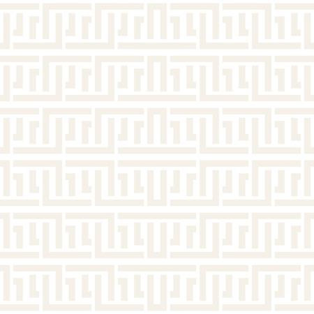 intertwine: Interlacing Lines Subtle Lattice. Ethnic Monochrome Texture. Vector Seamless Black and White Pattern.