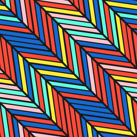 eighties: Colorful bright seamless pattern