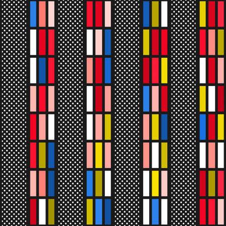 pattern: Colorful bright seamless pattern