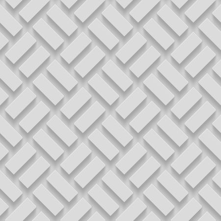 Seamless Repeatable Patterns With Beveled Shapes. Abstract Grayscale Monochrome Pavetment Background Reklamní fotografie