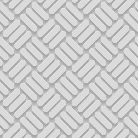 grey background texture: Seamless Repeatable Patterns With Beveled Shapes. Abstract Grayscale Monochrome Pavetment Background Stock Photo