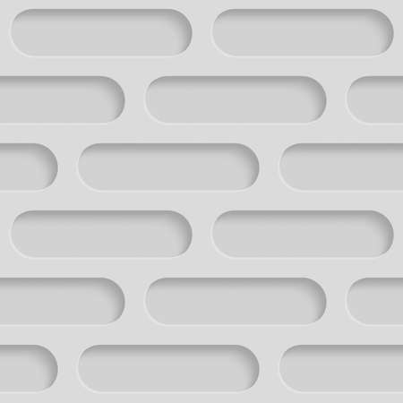 beveled: Seamless Repeatable Patterns With Beveled Shapes. Abstract Grayscale Monochrome Pavetment Background Stock Photo