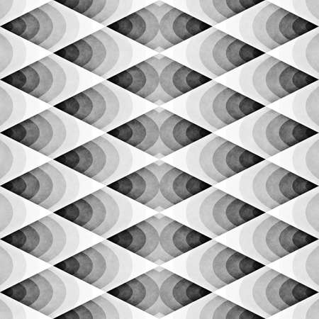 grey background texture: Seamles Gradient Rhombus Grid Pattern. Retro Monochrome Texture. Abstract Geometric Background Design